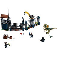 LEGO Jurassic World 75931 Dilophosaurus Outpost Attack - LEGO Building Kit