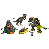 LEGO Jurassic World 75938 T-Rex vs Dino-Mech - LEGO Building Kit