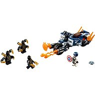 LEGO Super Heroes 76123 Captain America: Outriders Attack - Building Kit