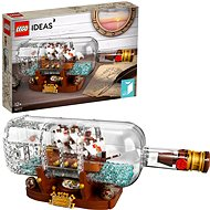 LEGO Ideas 92177 Ship in a Bottle - LEGO Building Kit