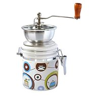 Toro coffee grinder, porcelain, stainless steel, Coffe motif - Coffee Grinder