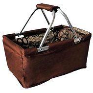 Toro Folding Shopping Basket, 29l - Brown - Basket