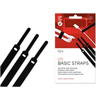 LABEL THE CABLE Cable LTC Basic 1110 black, 10pcs - Cable Organiser
