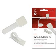 LABEL THE CABLE Wall Straps 3120 Wall WT, 10-pack - Cable Management
