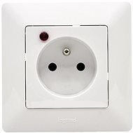 Legrand VALENA LIFE Socket 2P + T CL PO Set White - Socket