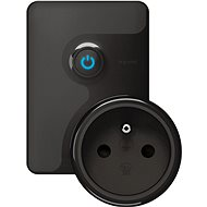 Legrand With Netatmo Switched Mobile Socket, Black - Socket