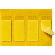 Legrand with Netatmo Replacement Double Sided Cardboard, 3pcs, Yellow - Accessories