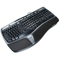 Microsoft Natural Ergonomic Keyboard 4000 CZ, black - Keyboard