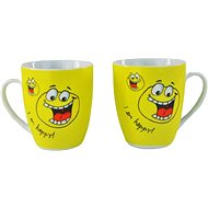 "MÄSER ""HAPPY"" SMILEY Mug 35cl 6 pcs - Mug"
