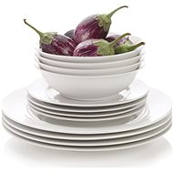 Maxwell & Williams WHITE BASICS Dining Set 12pcs - Dish Set