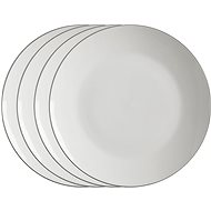 Maxwell & Williams WBA EDGE Set of Dessert Plates 19cm 4pcs - Set of plates