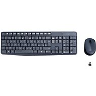 Logitech Wireless Combo MK235 CZ grey