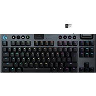 Logitech G915 LIGHTSPEED Tenkeyless Wireless RGB GL Tactile US INTL, Carbon - Gaming Keyboard