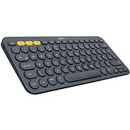 Logitech Bluetooth Multi-Device Keyboard K380 US Dark Grey - Keyboard