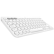 Logitech Bluetooth Multi-Device Keyboard K380, White - Keyboard