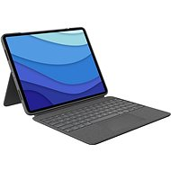 """Logitech Combo Touch for iPad Pro 12.9 """"(5th generation), gray - US INTL - Keyboard"""