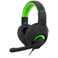 C-TECH NEMESIS V2 GHS-14 (black-green) - Gaming Headset