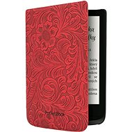 HPUC-632-R-F Red Flowers PocketBook - E-book Reader Case