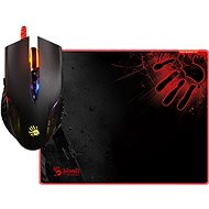 A4tech Bloody Q5081S Mouse Q50 + Mouse Pad B-081S Set