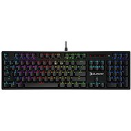 A4tech Bloody B820R Mechanical RGB Gaming Keyboard, USB, CZ - Gaming keyboard