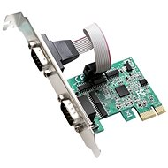 EVOLVEO 2x Serial 232 PCIe, Expansion Card