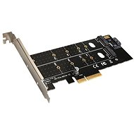 EVOLVEO NVMe & M.2 SSD PCIe, expansion card
