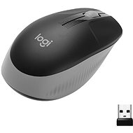 Logitech Wireless Mouse M190, Mid Grey - Mouse