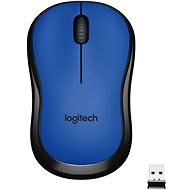 Logitech M220 Wireless Mouse Silent, blue