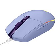 Logitech G203 LIGHTSYNC, Lilac - Gaming Mouse