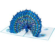 3D card Proud Peacock - Gift Card