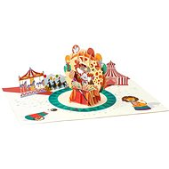 3D Greeting Cards Merry Go Round - Gift Card