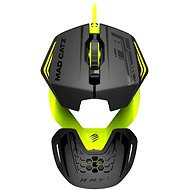 Mad Catz RAT 1 black-green - Gaming mouse