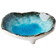 Made In Japan Sky Blue Small Bowl on Feet 9cm 50ml