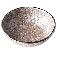 Made In Japan Earth Black Small Bowl 13cm 200ml