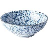 Made In Japan Large bowl Blue Daisy 21.5cm 1.3l - Bowl