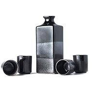 Made In Japan Gunmetal Sake Set 5pcs