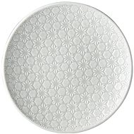 Made In Japan White Star Shallow Plate 20cm - Plate