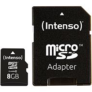 Intenso Micro SD Card Class 10 8GB