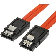 Data cable ROLINE for HDD SATA 3.0. 1xHDD, 0.5m, locking latches - Datový kabel