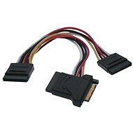 ROLINE power SATA -> 3x SATA, 0.15m - Data cable