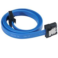 AKASA PROSLIM SATA 30cm Blue - Data cable