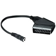 Hama SCART Audio Black - Adapter