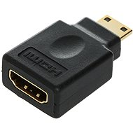 ROLINE HDMI A (F) --> miniHDMI (M), gold-plated connectors - Adapter