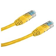 Datacom, CAT6, UTP, 0.25m yellow - Network Cable