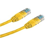 Datacom, CAT6, UTP, 0.5m, yellow - Network Cable