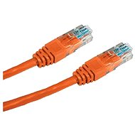 Datacom CAT5E UTP orange 1m - Network Cable