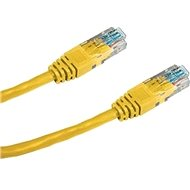 Datacom CAT5E UTP yellow 3m