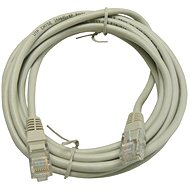 Datacom, CAT6, UTP, 3m, grey - Network Cable