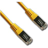 Datacom CAT5E FTP yellow 0.5m