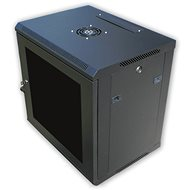 "19"" RACK single piece 12U black - Rack"